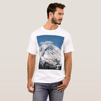 Mt. Blanc with clouds. T-Shirt