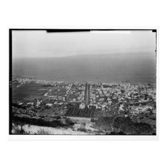 Mt. Carmel, Haifa, ca. 1922 Postcard