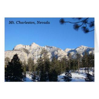 Mt Charleston Notecard Note Card