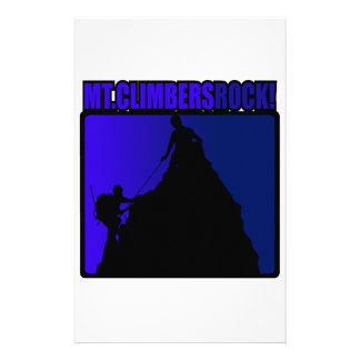 Mt. Climbers Rock! Stationery