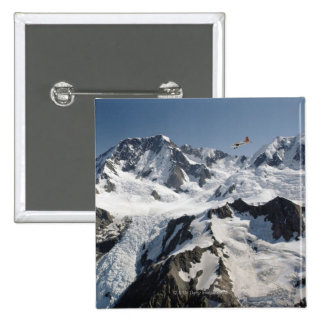 Mt Cook, New Zealand 2 Inch Square Button