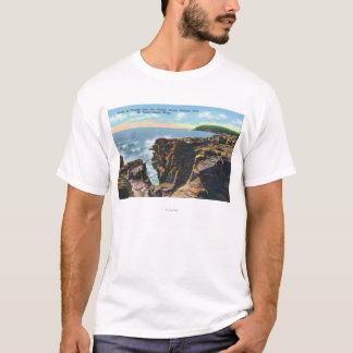 Mt. Desert Island View of Thunder Hole T-Shirt