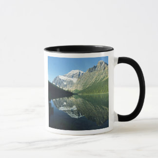 Mt Edith Cavell in Cavell Lake, Jasper National Mug