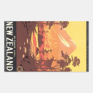 Mt. Egmont. 8,260 Ft. New Zealand, Vintage