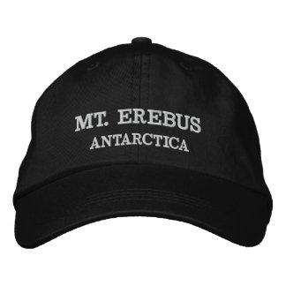 Mt. Erebus, Antarctica Adjustable Hat