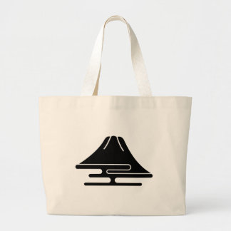 Mt.Fuji and haze Large Tote Bag