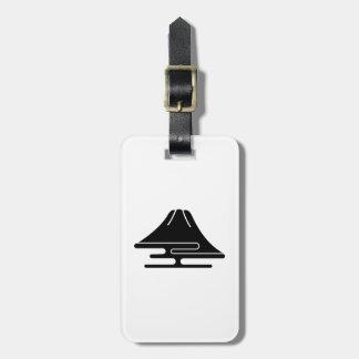 Mt.Fuji and haze Luggage Tag