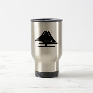 Mt.Fuji and haze Travel Mug