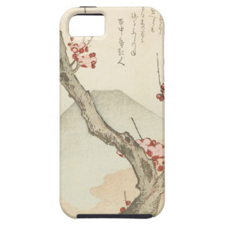 Mt. Fuji Behind a Blossoming Plum Tree Case For The iPhone 5