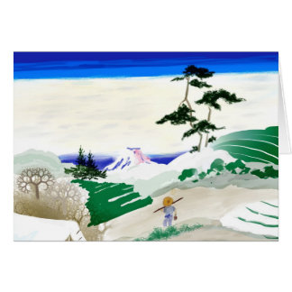 Mt. Fuji Greeting Card