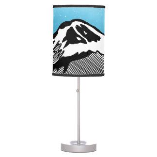 Mt Fuji Japan Landscape illustration Table Lamp