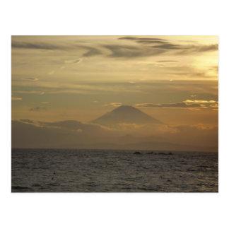 Mt. Fuji Sunset Postcard