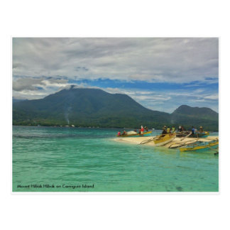 Mt. Hibok Hibok on Camiguin Island, Phil. Postcard
