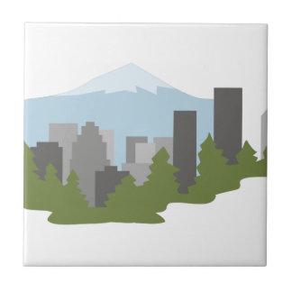 Mt. Hood Ceramic Tile