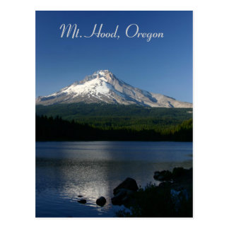 Mt Hood from Trillium Lake Postcard