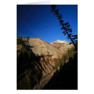 Mt. Hood Through Zig Zag Canyon Card
