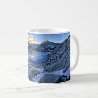 Mt Izaak Walton Over Bighorn Lake Sunrise - Sierra Coffee Mug
