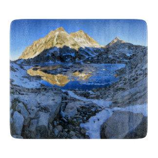 Mt Izaak Walton Over Bighorn Lake Sunrise - Sierra Cutting Board