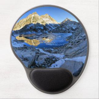 Mt Izaak Walton Over Bighorn Lake Sunrise - Sierra Gel Mouse Pad