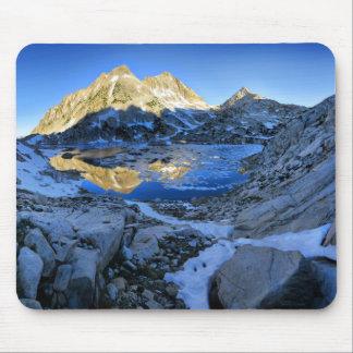 Mt Izaak Walton Over Bighorn Lake Sunrise - Sierra Mouse Pad