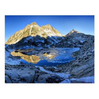 Mt Izaak Walton Over Bighorn Lake Sunrise - Sierra Postcard