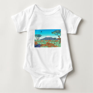 Mt Kilimanjaro Baby Bodysuit