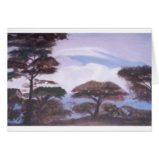 Mt Kilimanjaro Card