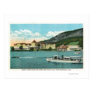 Mt Kineo House, Annex, and Yacht Club Postcard