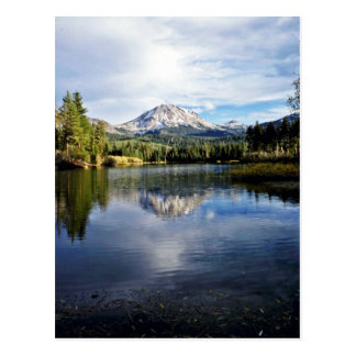 Mt. Lassen From Manzanita Lake Postcard