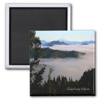 Mt. Lassen past the lake of fog.... Magnet