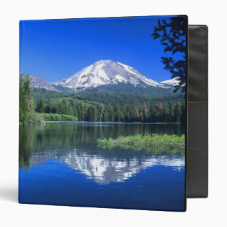 Mt. Lassen rises above Manzanita Lake Vinyl Binders