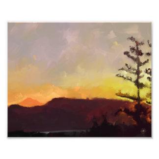 Mt. Le lever de soleil Kodak de Baker impriment Impressions Photographiques