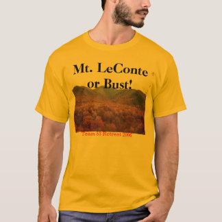 mt leconte 1, Mt. LeConte or Bust!, Team 53 Ret... T-Shirt