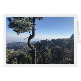 Mt. Lemmon Greeting Card