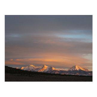 Mt. Lindsey Morning Light Postcard