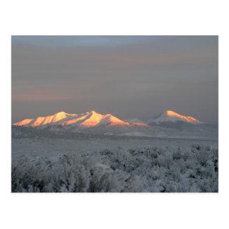 Mt. Lindsey Morning Postcard