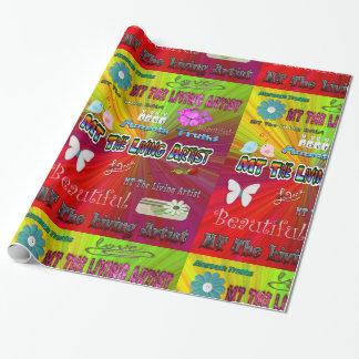 MT Living Artist Wrapping Paper