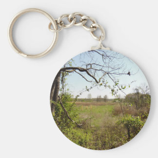Mt. Magazine Arkansas Basic Round Button Keychain