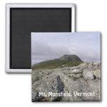 Mt. Mansfield, Vermont Refrigerator Magnet