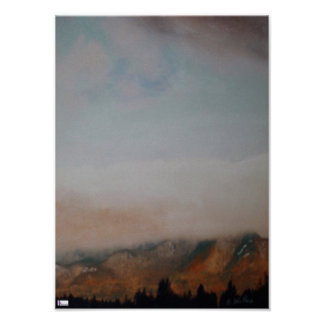 Mt Marcy Poster Print