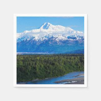 Mt. McKinley Alaska Paper Napkin