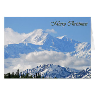 Mt. McKinley - Merry Christmas Card