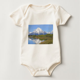 Mt. Moran Grand Teton National Park Baby Bodysuit
