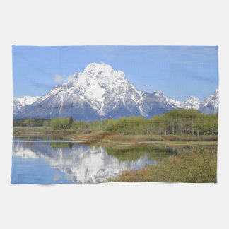 Mt. Moran Grand Teton National Park Kitchen Towel