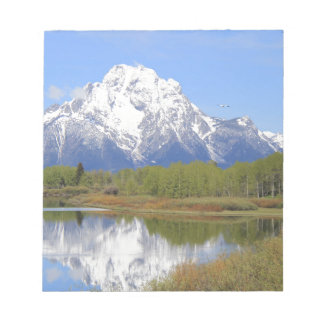 Mt. Moran Grand Teton National Park Notepad