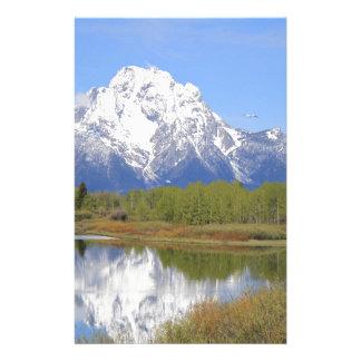 Mt. Moran Grand Teton National Park Stationery