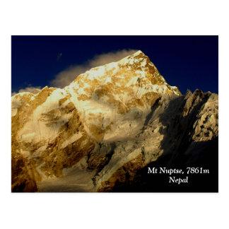Mt Nuptse Postcard