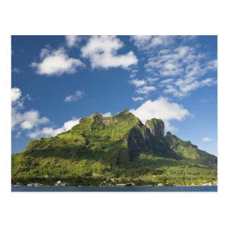 Mt. Otemanu and scenics of beautiful Bora Bora Postcard