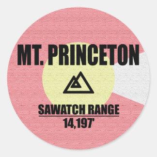 Mt. Princeton Classic Round Sticker