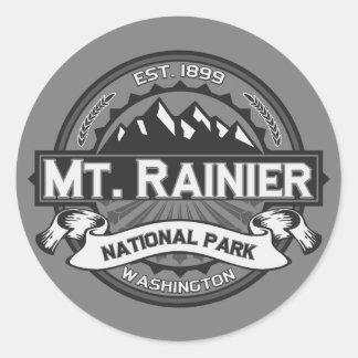 Mt. Rainier Ansel Adams Round Sticker